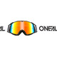 ONeal B-20 Goggle FLAT black/white-radium